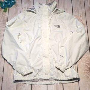 The North Face women's hyvent hooded rain jacket